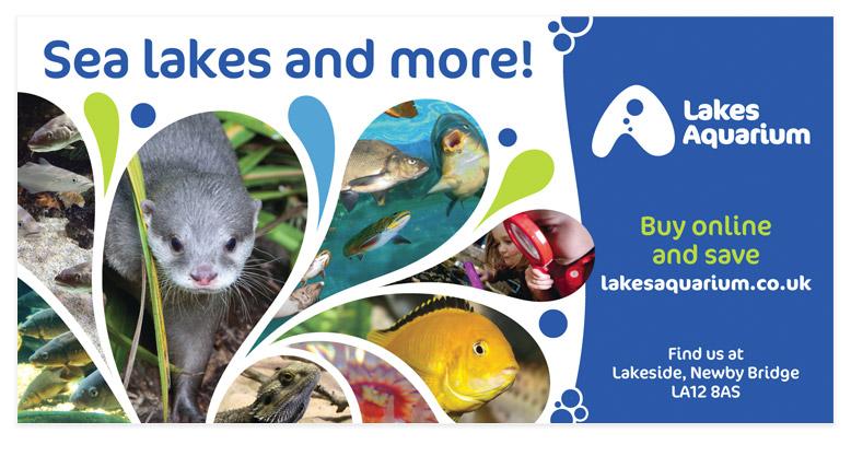 Lakes Aquarium 48 sheet outdoor advertising