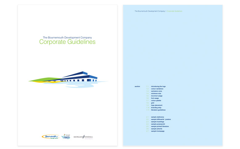 Bournemouth Development Company Brand Guidelines