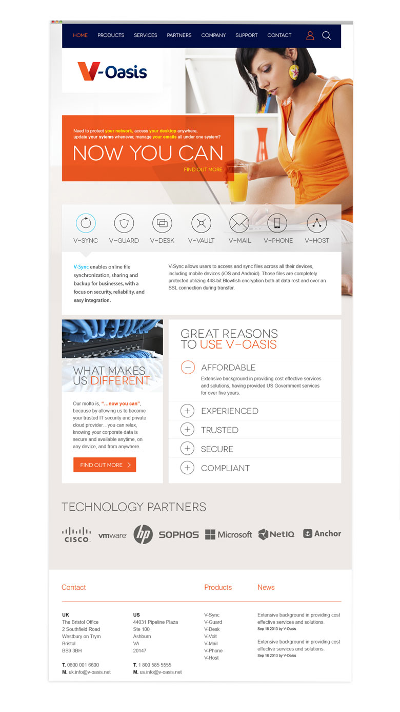 voasis-wordpress-cms-site
