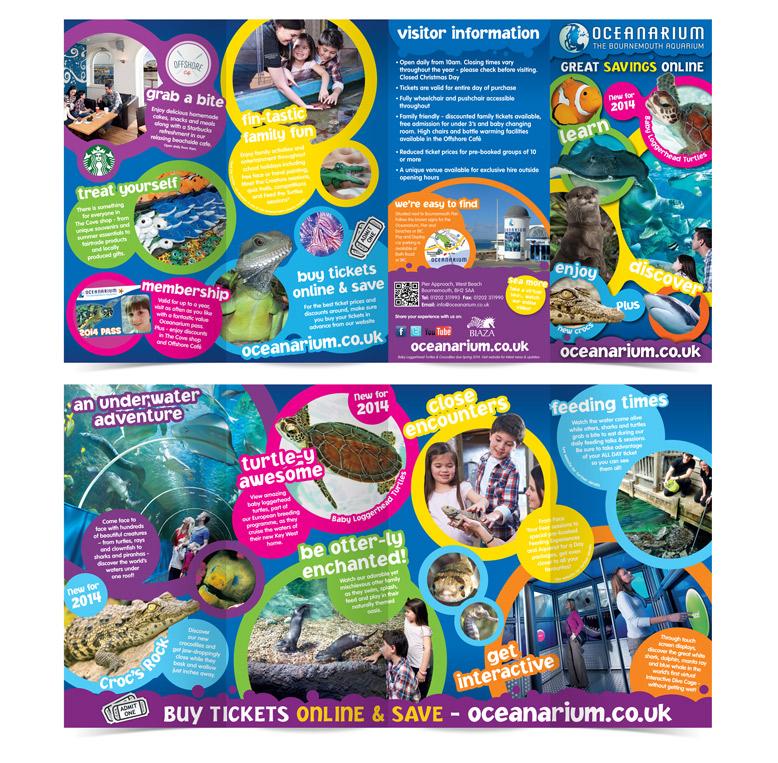 printed-literature-oceanarium-DL-leaflet
