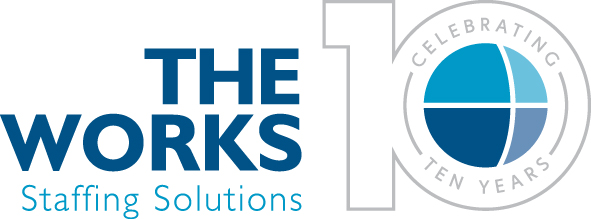 The Works 10 years logo RGB