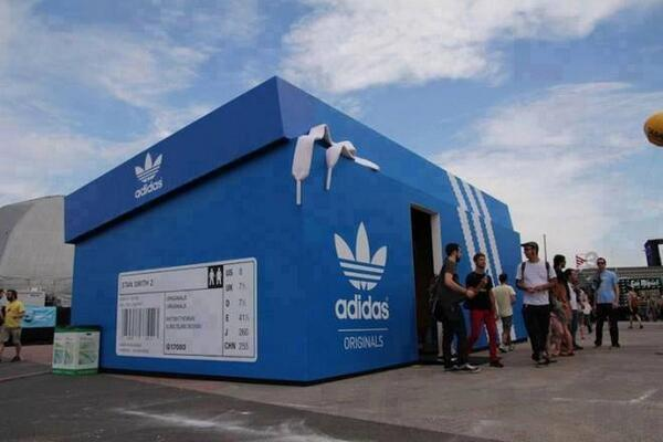 Adidas Shop in Amsterdam