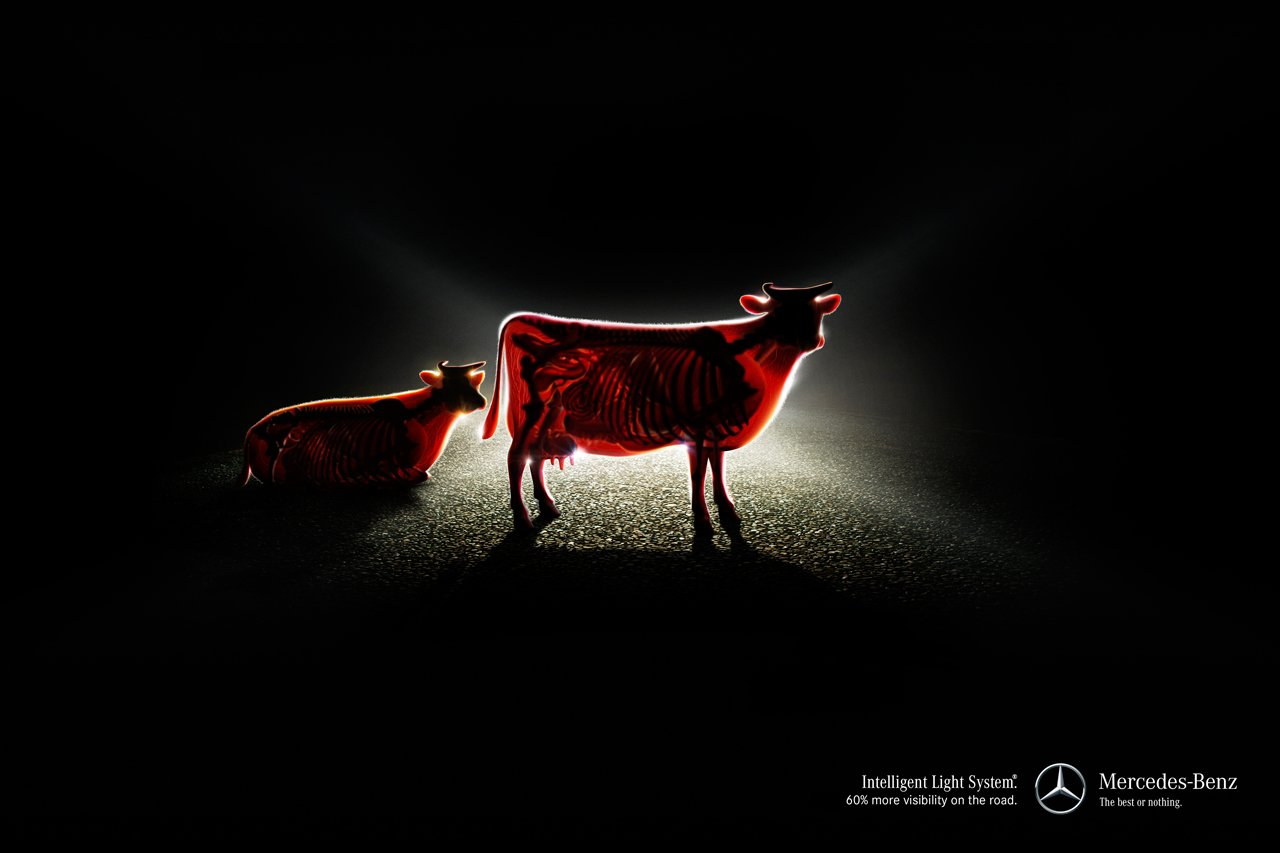 Mercedes-Benz-Cow