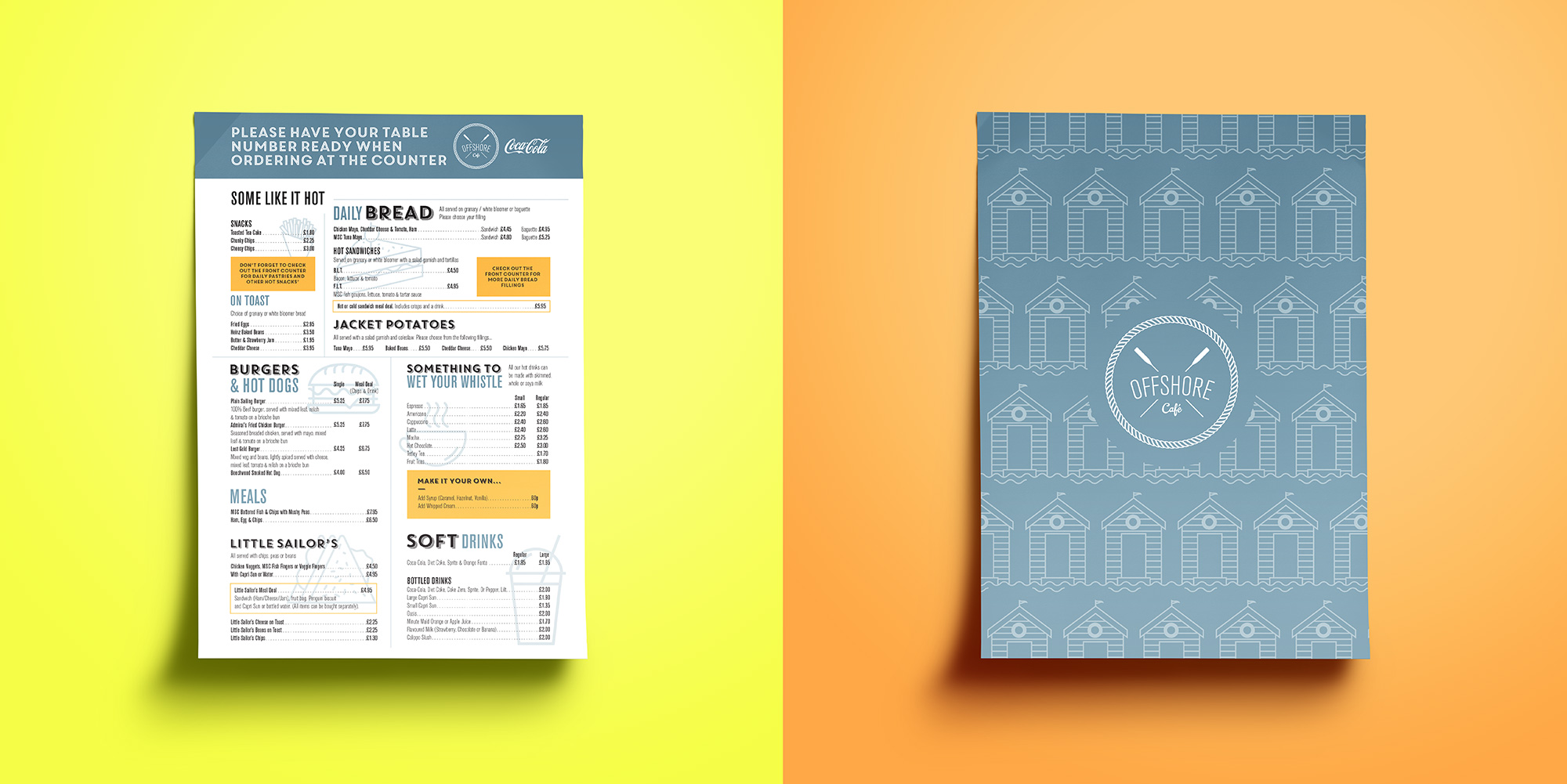 Cuco Design Menu S For Dorset Eateries Cuco Creative