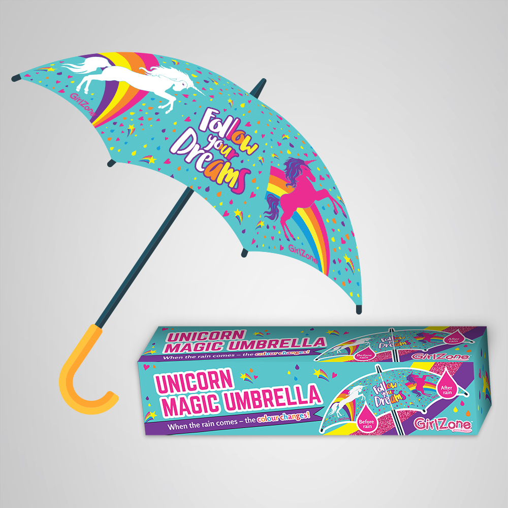 Unicorn Umbrella Packaging