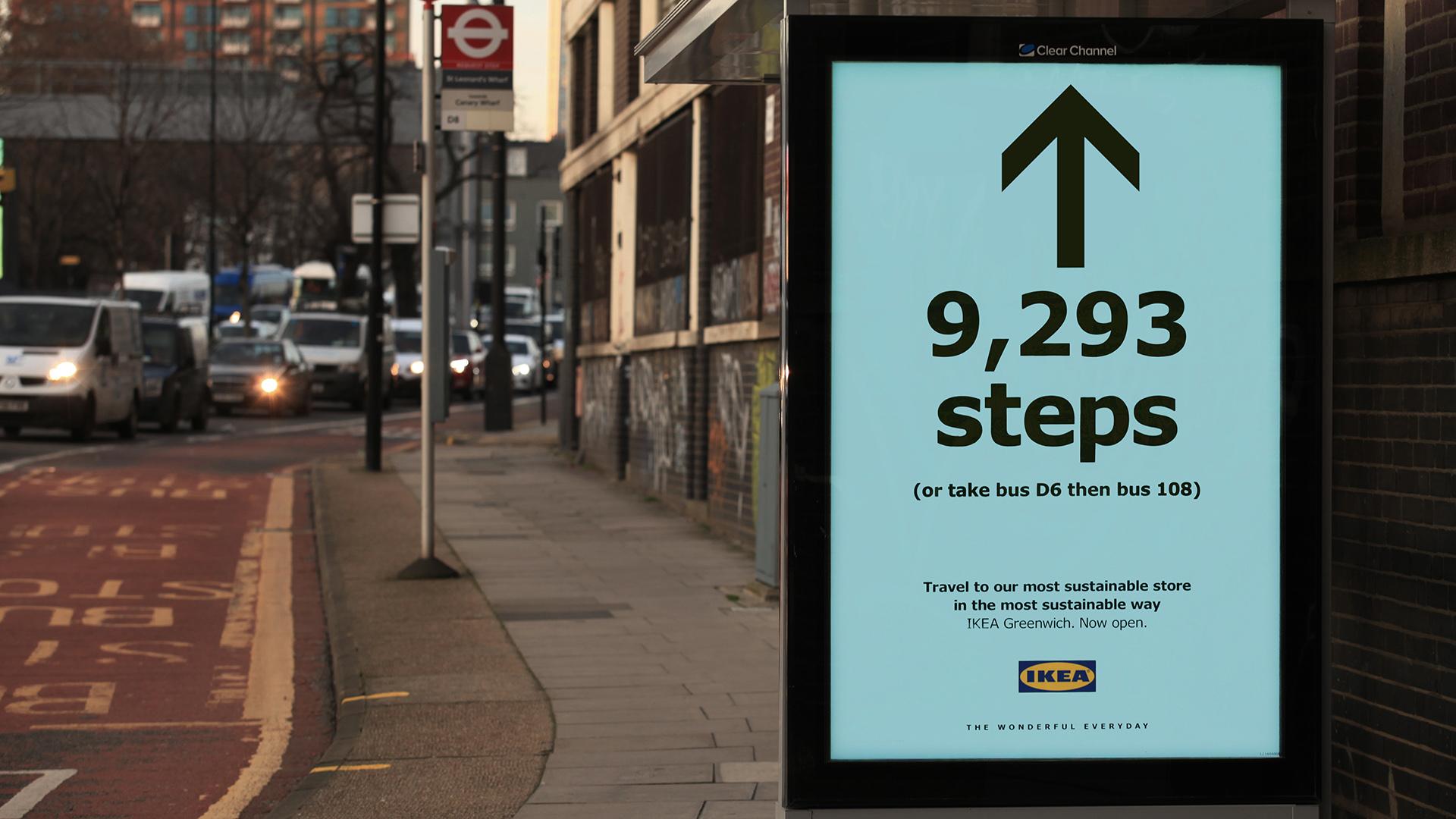 IKEA Steps Adverts
